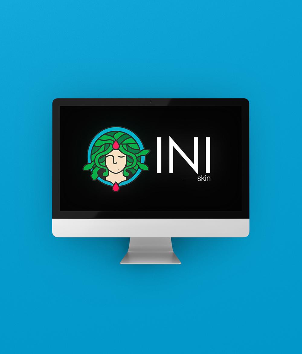INI logo design